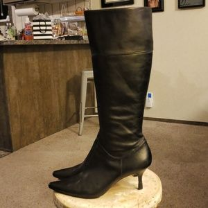 Circa Joan & David tall leather boots 9.5
